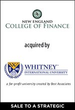 New England College of Finance sold to Best Associates