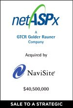 NaviSite to Acquire netASPx