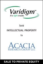 Varidigm sold Intellectual Property